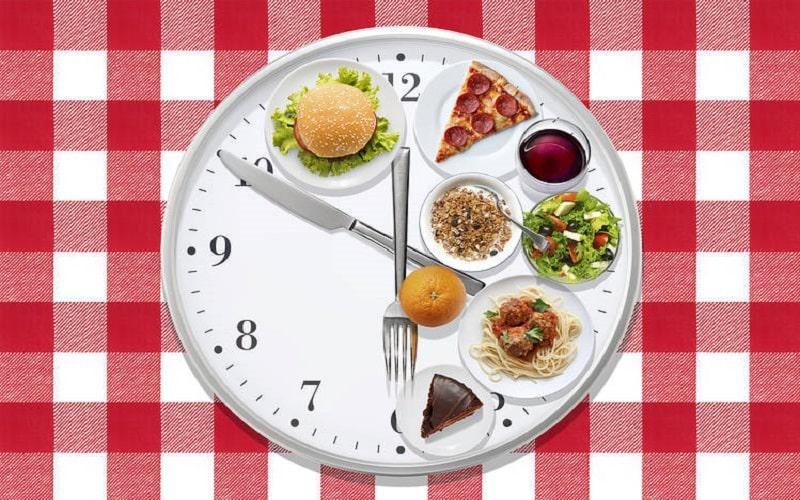 ساعت غذا خوردن و لاغری پایدار