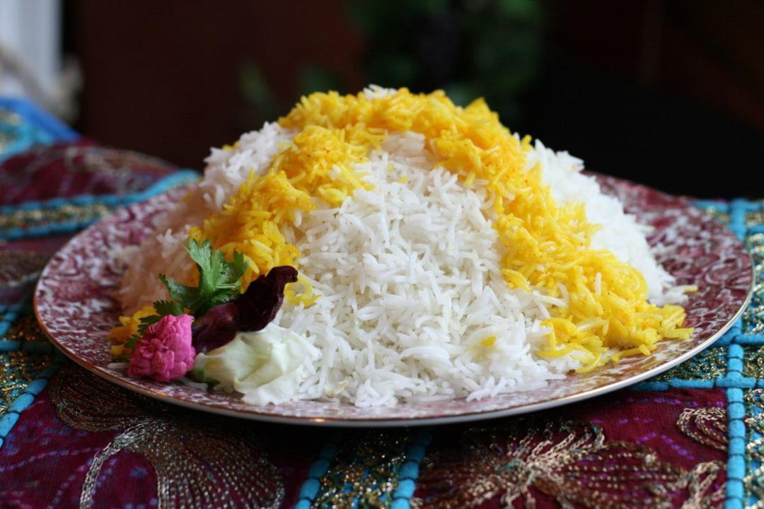بشقاب برنج