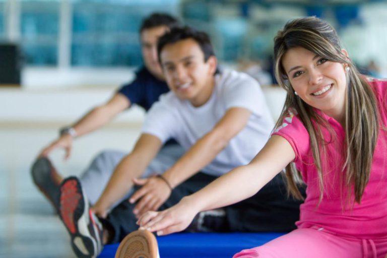 آب کردن پهلو ها و شکم با ورزش