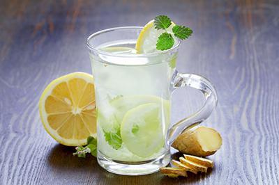 لیموناد زنجبیلی ترکیب زنجبیل و لیمو