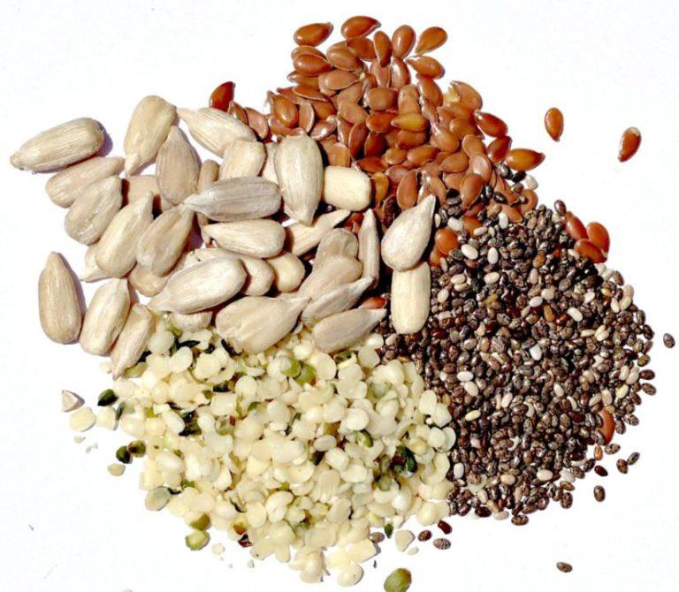 خوردن دانه های کامل