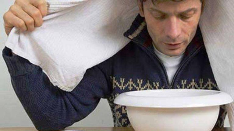 بخور دادن برای تسکین سرفه خشک