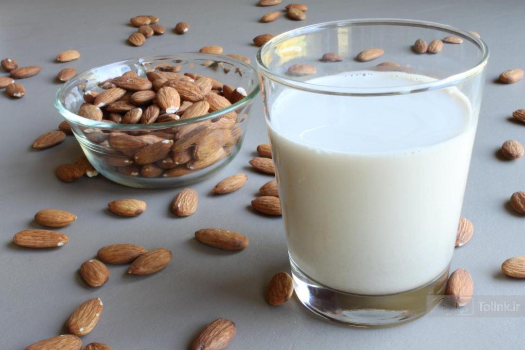 شیر بادام - انواع شیرها
