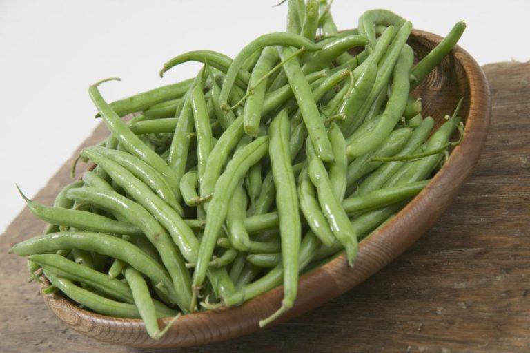 لوبیا سبز و لاغری شکم