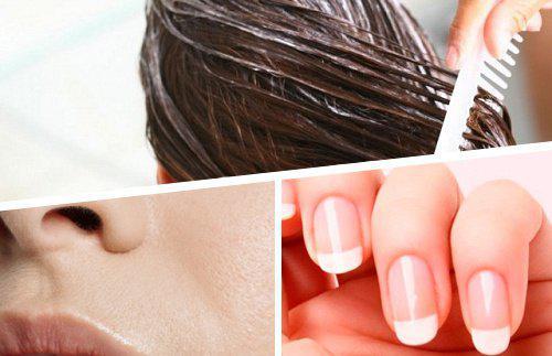 تقویت پوست و مو وناخن با مخلوط آب لیمو و روغن زیتون