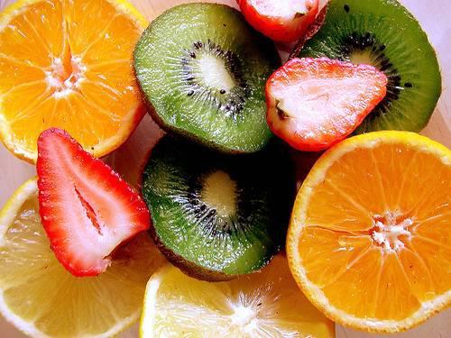 میوه ها و ویتامین C
