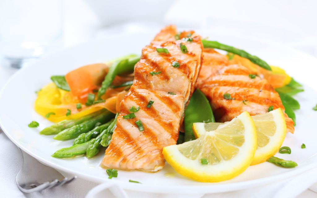 غذای سالم و پر پروتئین