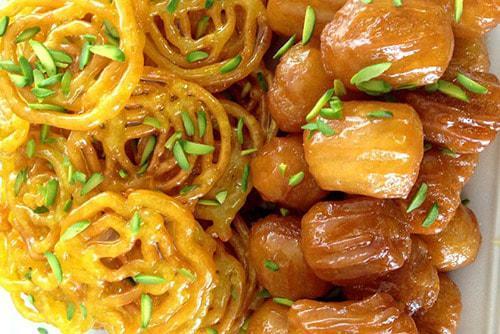 زولبیا و بامیه و ماه رمضان