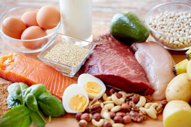 منابع غذایی پروتئینی
