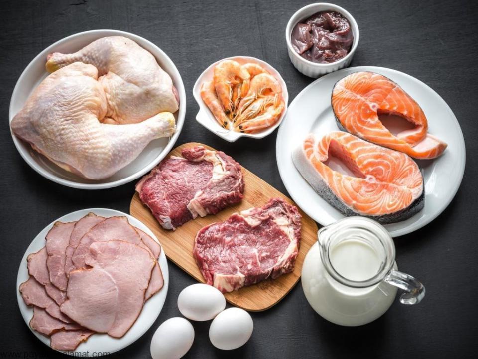 Vitamin B12 منابع غذایی