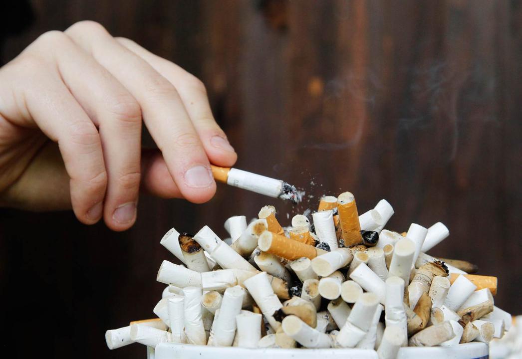 سیگار و تری گلیسرید بالا