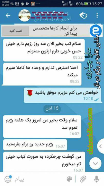 افراد موفق 6 - رژیم آنلاین - سارا چیذری