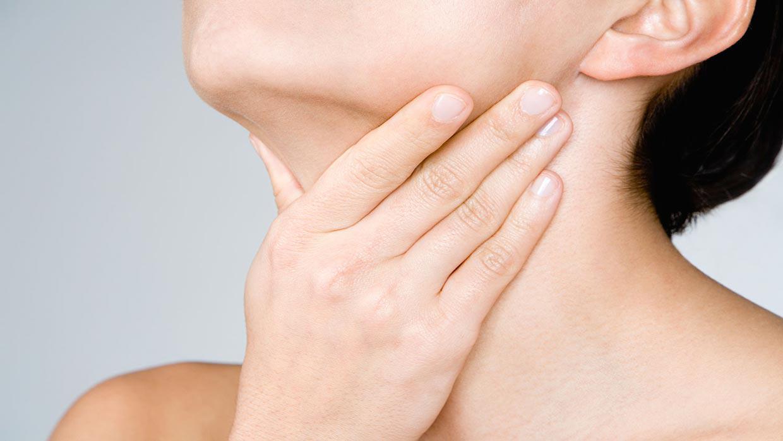 رفلاکس و گلو درد