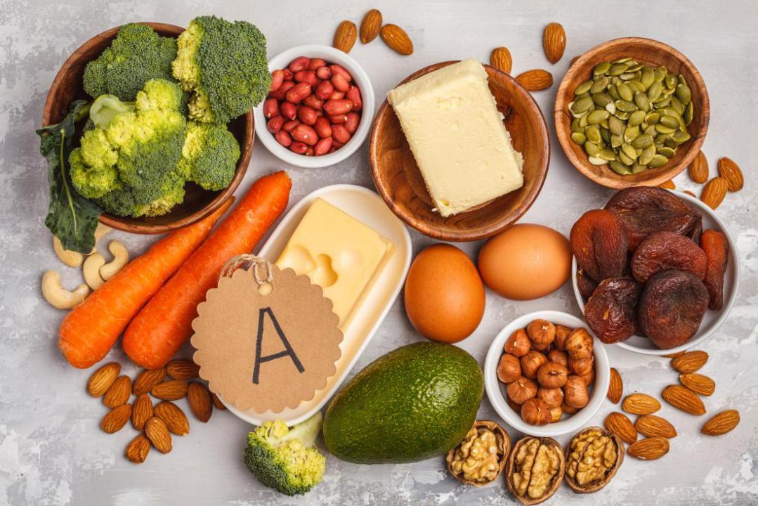 کمبود ویتامین A و خشکی پوست