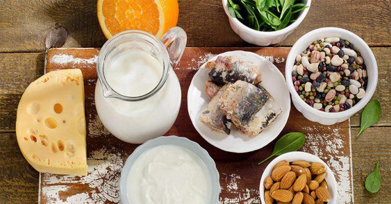 غذاهای حاوی کلسیم و ویتامین دی