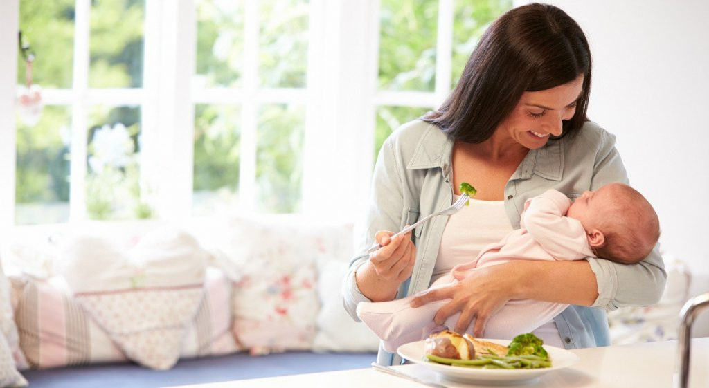 تغذیه در دوران شیردهی