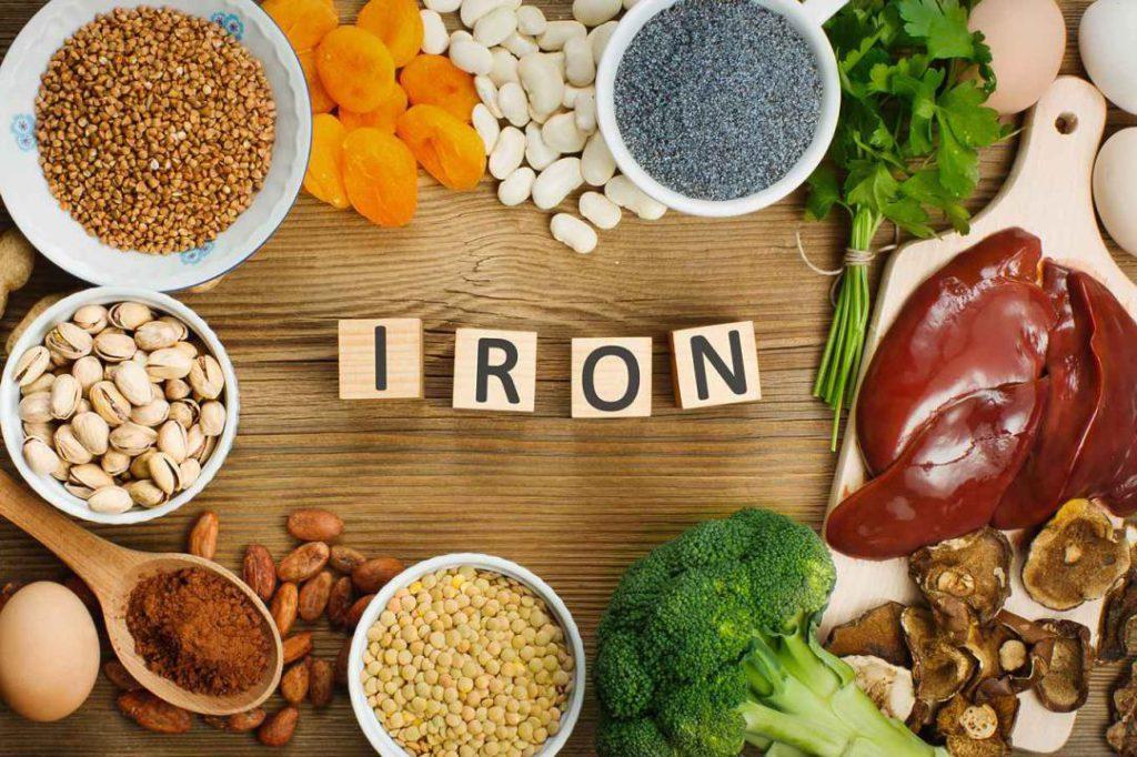 راه های افزایش جذب آهن غذا