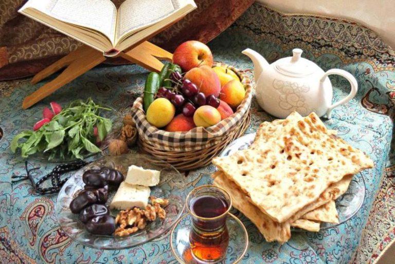 توصیه های تغذیه ای برای وعده های غذایی ماه رمضان در دوران کرونا