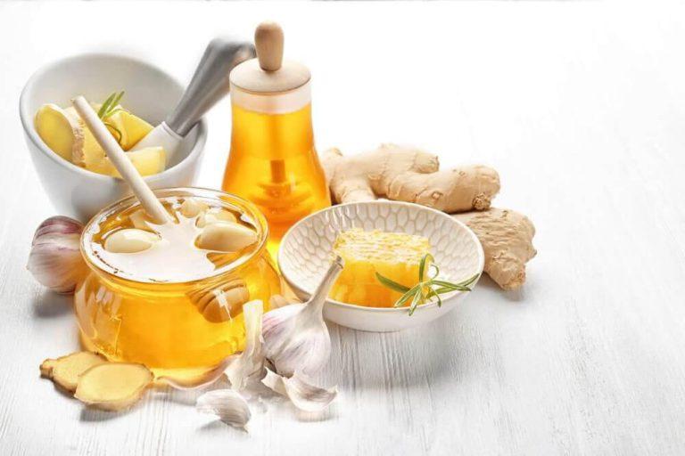 طرز تهیه نوشیدنی زنجبیل ، سیر و عسل