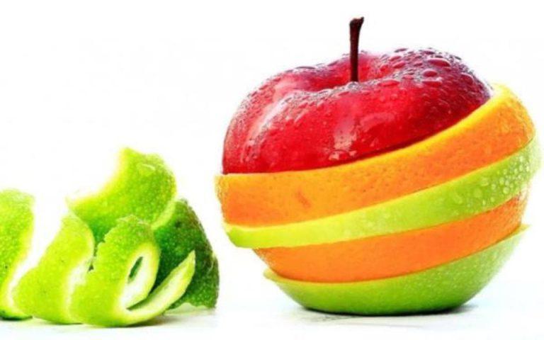 مواد مغذی موجود در پوست میوه ها