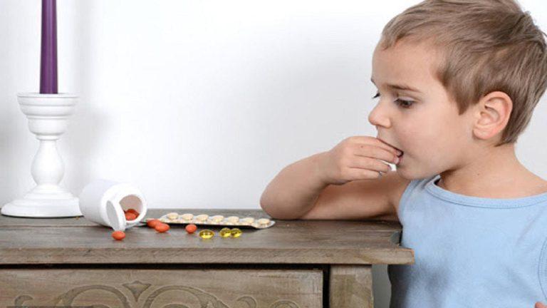 مسمومیت دارویی کودکان